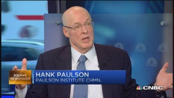 Paulson's great confidence in Fed