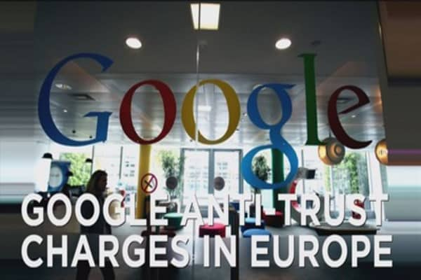 Google anti-trust charge in Europe