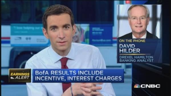BofA quarter good but not great: Analyst