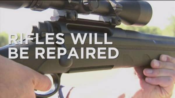Remington rifles get a repair