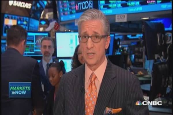 Pisani's market open: Modest rally