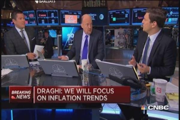 Cramer: More ECB QE, more problems