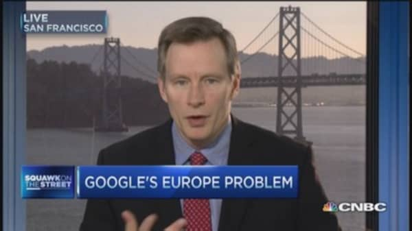 The trade on Google's Europe problem