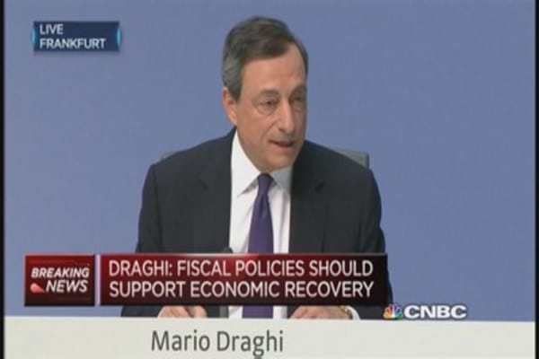ECB to extend liquidity to Greek banks: Draghi