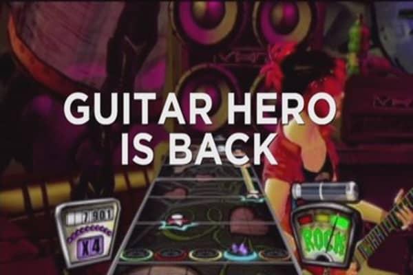 Guitar Hero returns