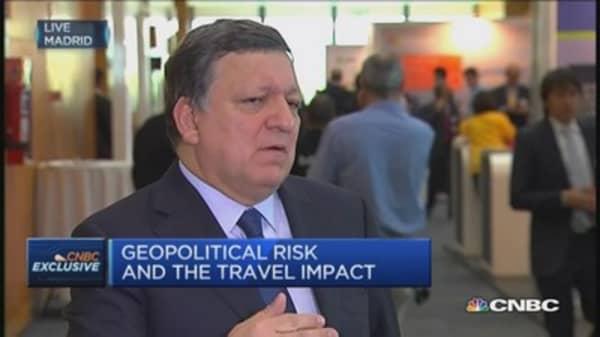 Tourism is very beneficial for EU: Barroso