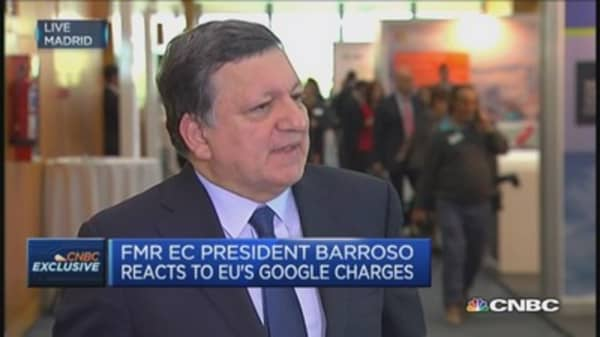 EU's Google charges will be 'credible': Barroso