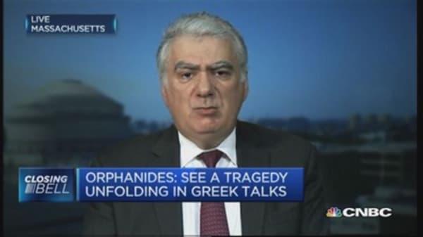 'Tragedy' unfolding in Greek talks