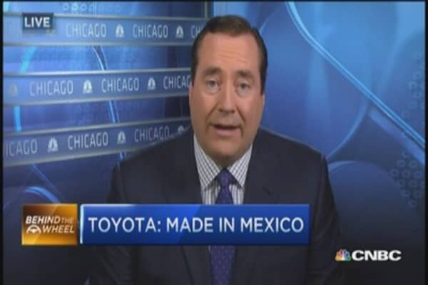 Toyota's $1B south-of-the-border expansion