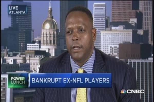 Bankrupt ex-NFL players
