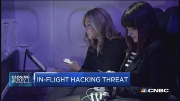 GAO warns of in-flight hacking vulnerability