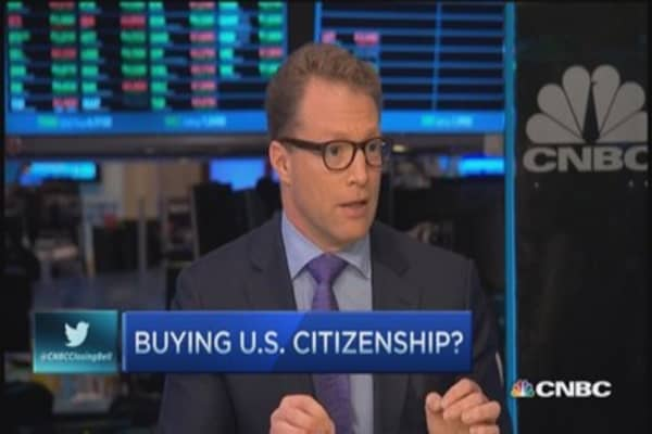 No more visas for Chinese investors