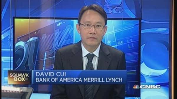 China stocks still got 'moderate upside': BofA