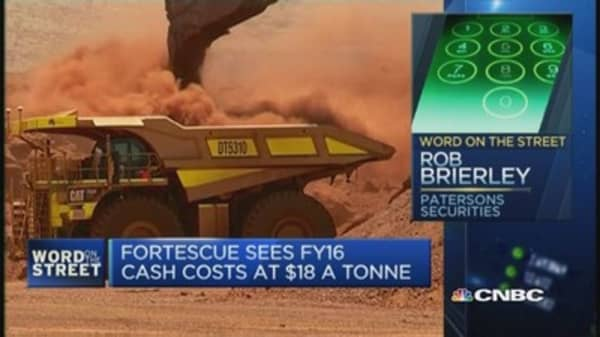 Takeaways from Fortescue Metals' quarterly report