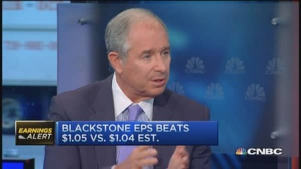 Blackstone beats on top and bottom line: CEO