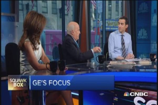 Schwarzman, GE... everybody won: Jack Welch