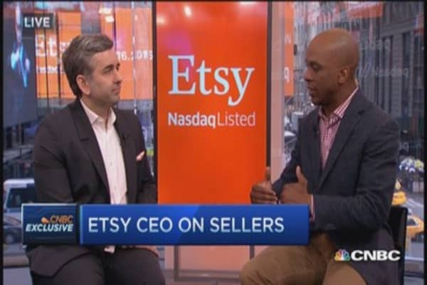 Sellers find a home at Etsy: CEO