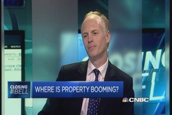 Is the property market booming or bubbling?
