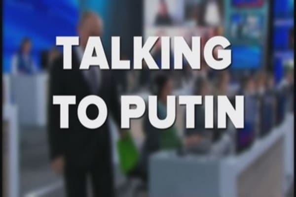 Talking to Putin