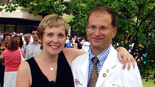 At age 40, Pascal Scemama de Gialluly left Wall Street to become a doctor