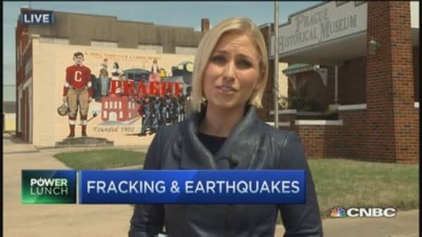 Is fracking behind the increase in Oklahoma earthquakes
