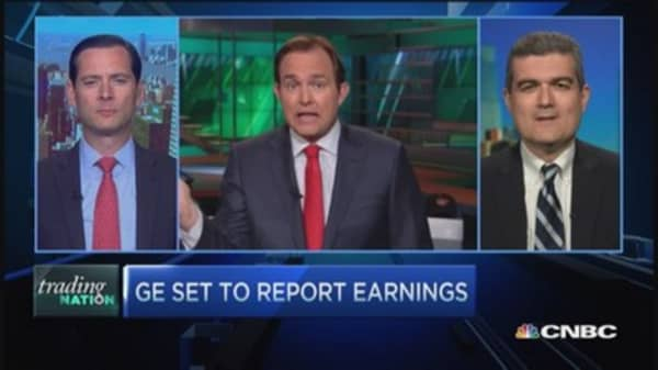 Trading Nation: GE earnings on tap