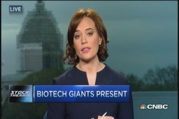 Biotech giants present new data