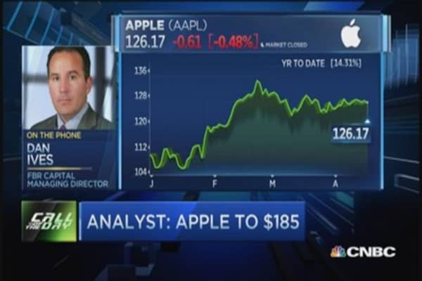 Apple worth a trillion?