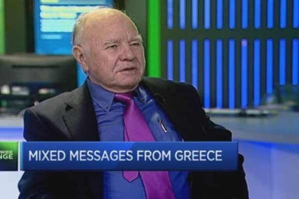 Faber: 'Greece should default'