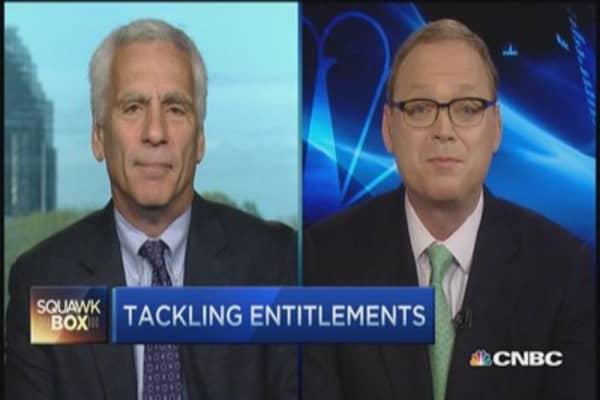 Tackling politic's 3rd rail: Entitlements