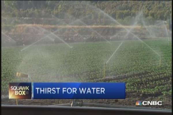 California mega-drought sparks ag controversy