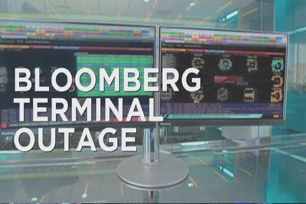Bloomberg hit with outage