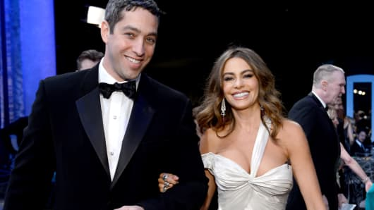 Nick Loeb and Actress Sofia Vergara back in 2013.