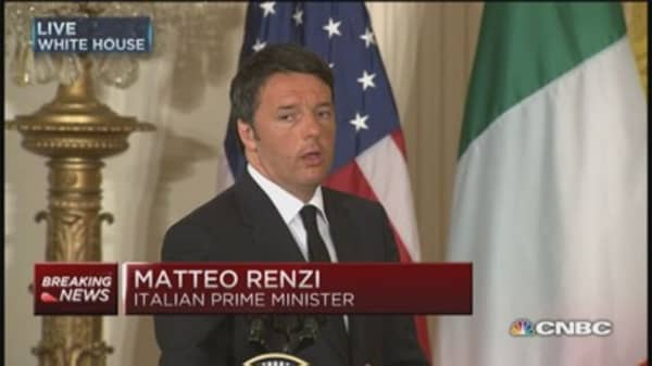 Italy's Renzi: Greece must work to achieve agreement
