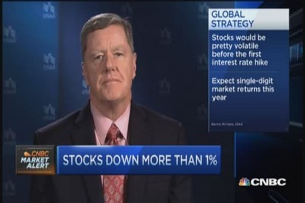 Two pros agree, normal earnings volatility