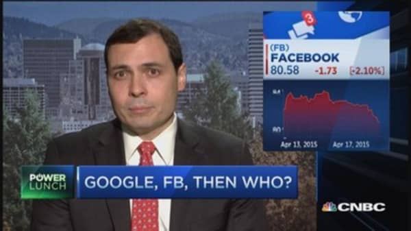 Facebook vs. Google: AD wars