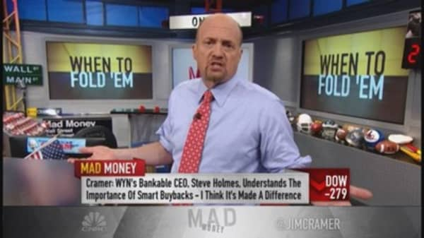 Cash not always king: Cramer