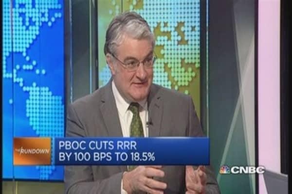 China's RRR cut hints at 'desperation': Pro