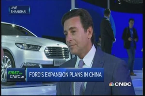 Ford CEO: 'China is still a good growth market'