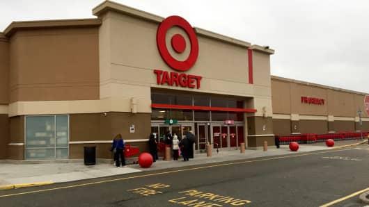 A Target store in Edgewater, N.J.