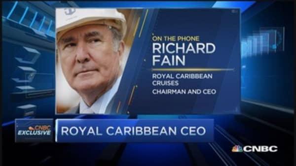 More bullish than ever: Royal Caribbean CEO
