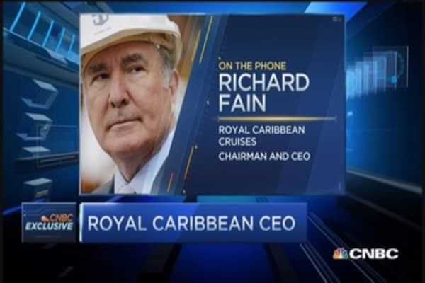 More bullish than ever: Royal Caribbean CEO
