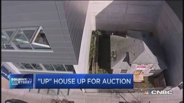 Disney 'UP' house up for auction