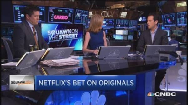 Netflix's big bet on originals