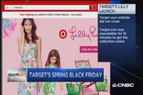 Target's weekend social buzz