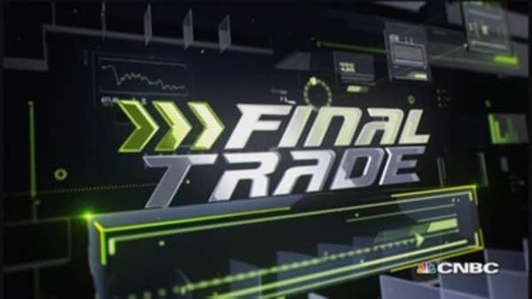Fast Money Final Trade: POT, UA, M & FB