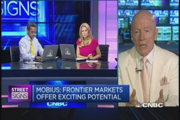 Mobius' favorite market in Asia is...