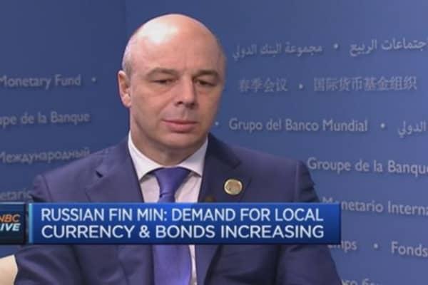We're always open to new markets: Russian Fin Min