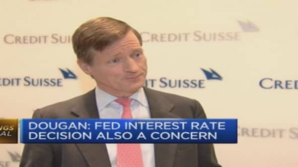 Fixed income markets look 'toppy': Credit Suisse CEO
