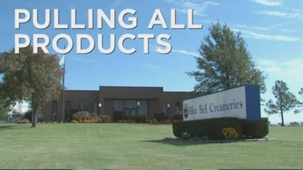 Blue Bell pulls all of its products